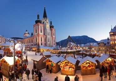 Adventmarkt & Lebkuchenduft in Mariazell